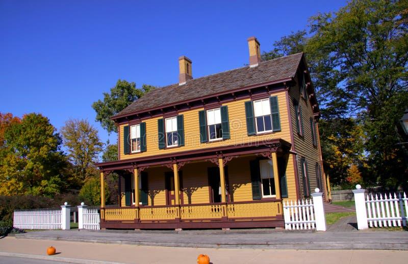 исторический дом стоковая фотография