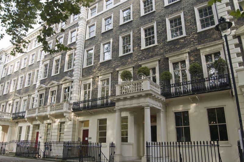 Исторический дом Lytton Strachey, Bloomsbury Стоковые Фото