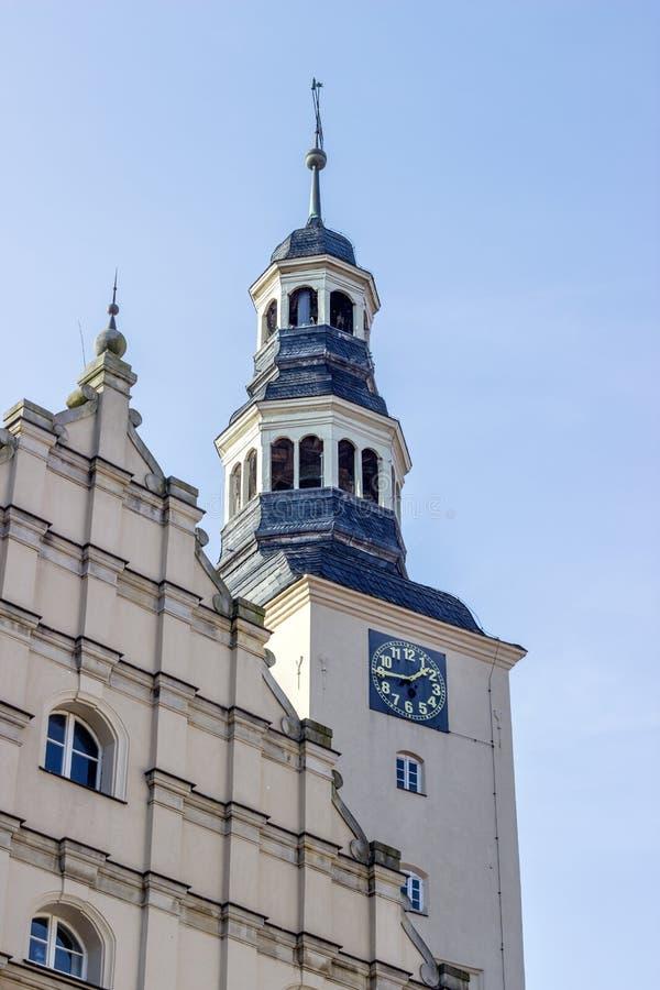 исторический здание муниципалитет Gardelegen стоковые изображения rf