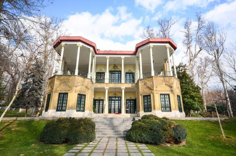 Исторический комплекс Niavaran в Тегеране стоковые изображения