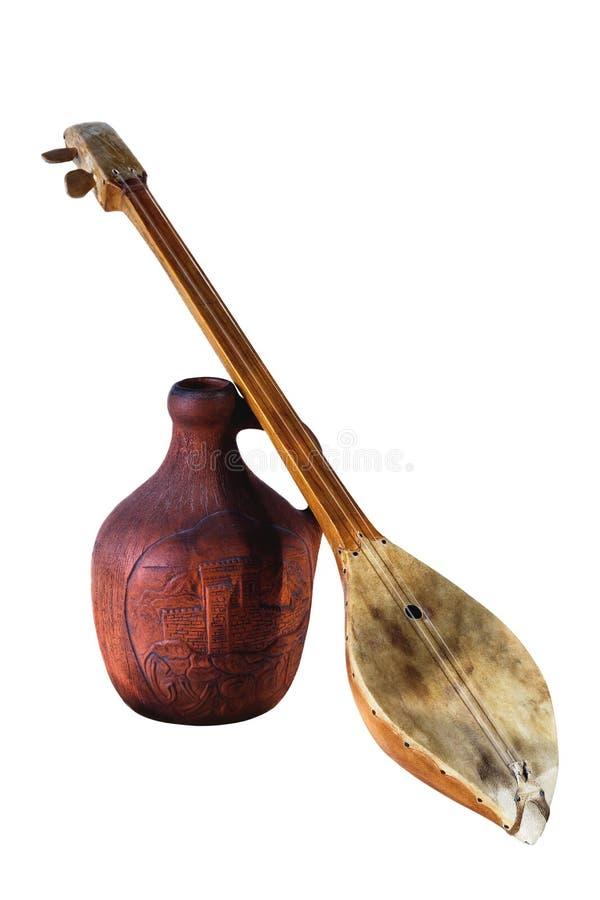 Исторический кувшин и музыка стоковые изображения rf