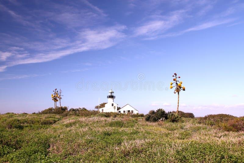 исторический маяк стоковое фото