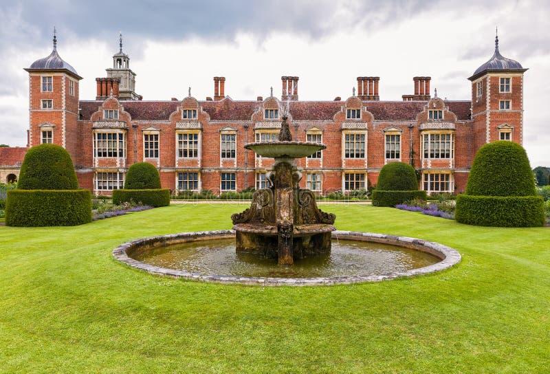 Исторический особняк страны в Англии стоковая фотография rf