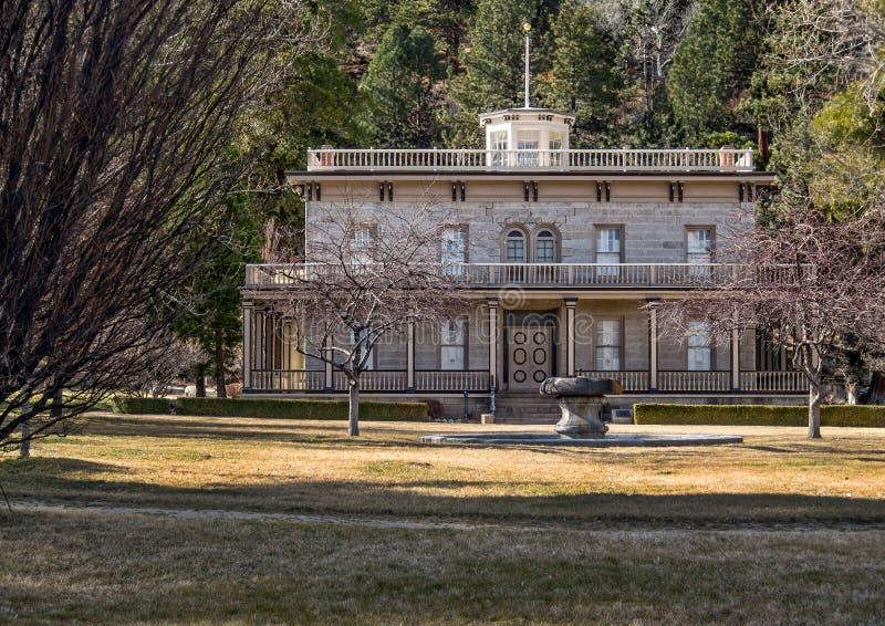 Исторический особняк Bowers стоковое фото