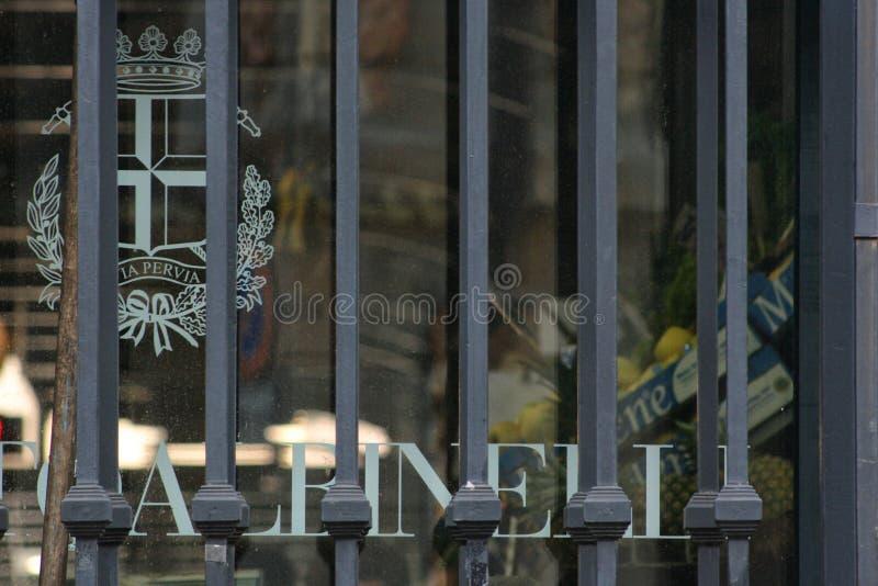 исторический рынок альбинелли, модена, италия стоковые изображения