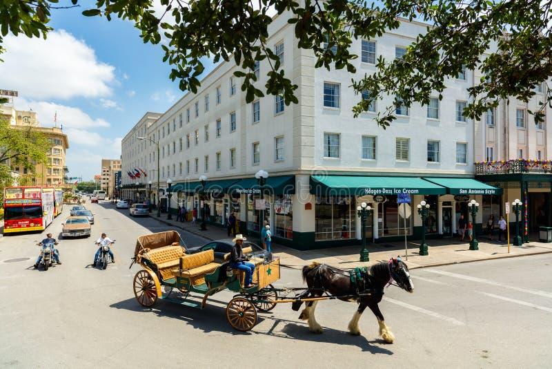 Исторический Сан Антонио стоковые фотографии rf