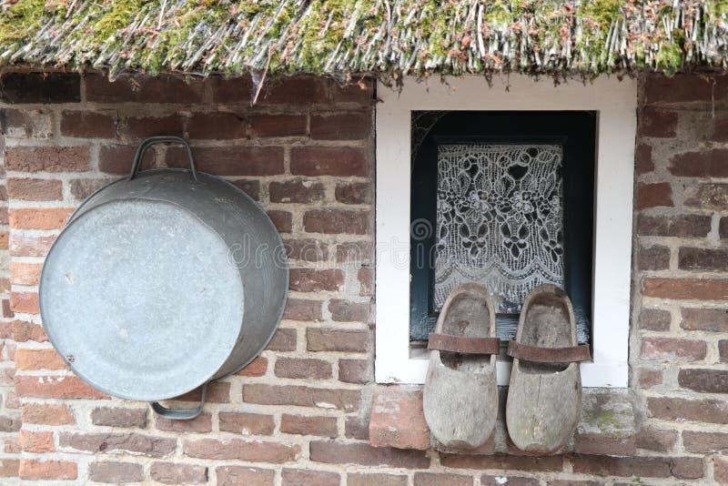 Исторический сельский дом стоковая фотография rf