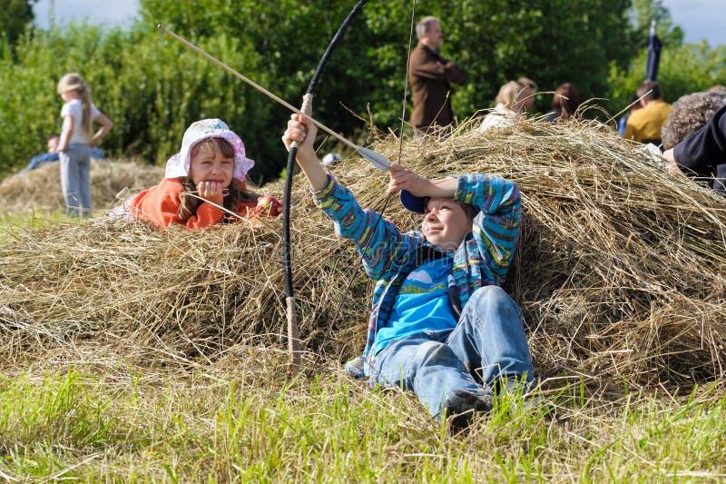 Исторический фестиваль Викинга стоковые изображения