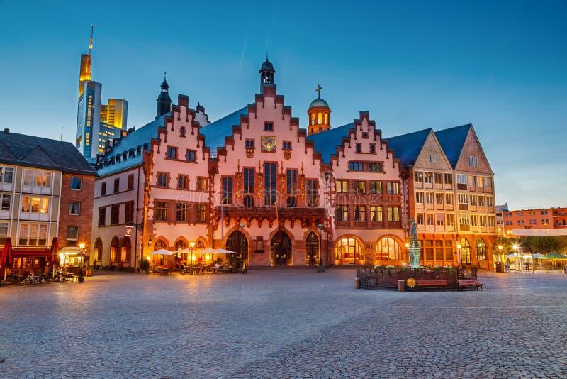 Исторический центр Франкфурт стоковые фото
