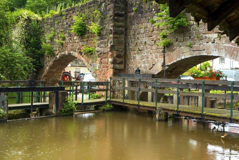 Исторический центр Wissembourg, стоковые изображения rf