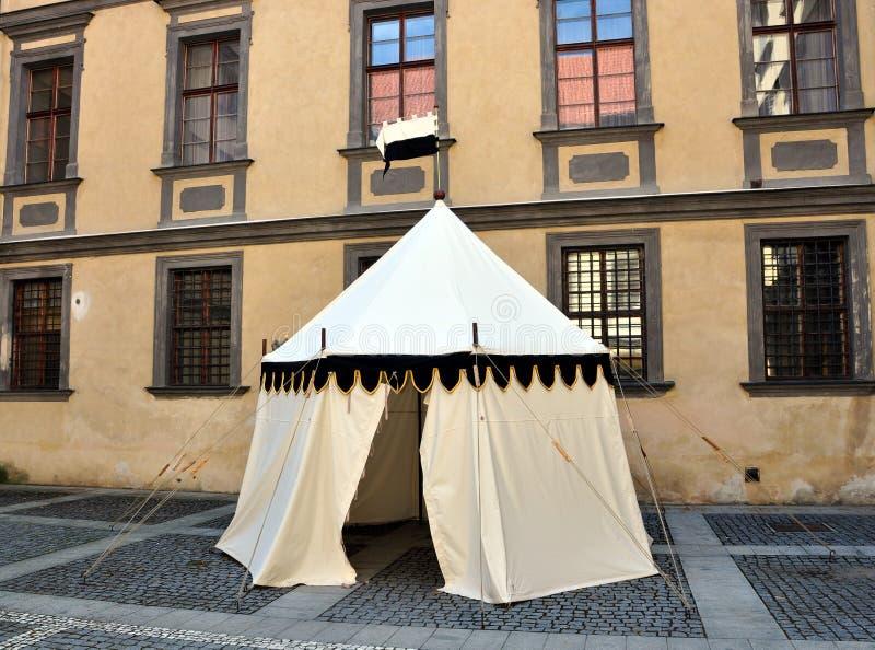 Исторический шатер стоковое изображение rf