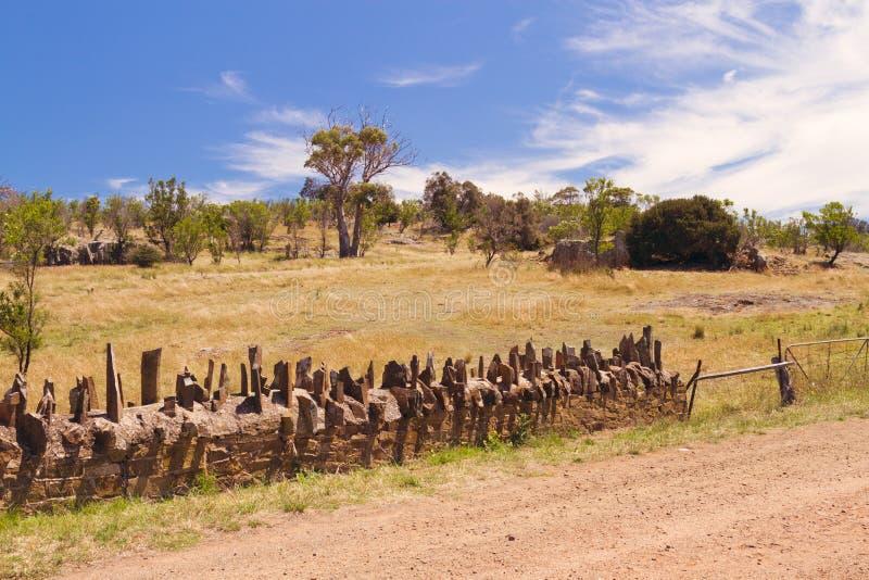 Исторический Spiky мост в Тасмании стоковое фото rf