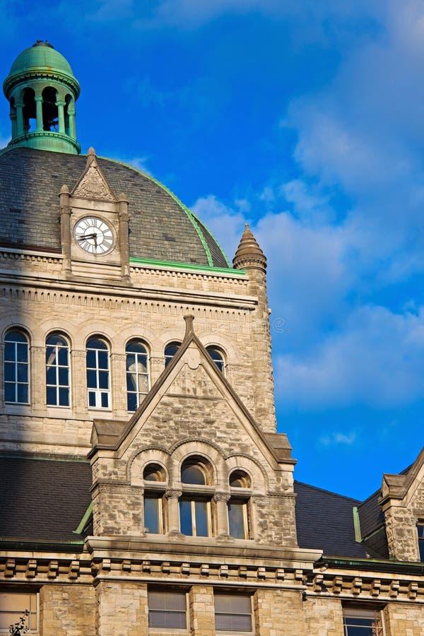 Историческое здание в Lexington стоковые фотографии rf