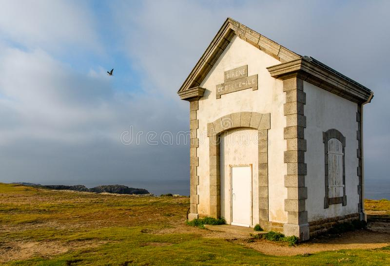 Историческое здание сирены красавицы-Ile стоковое фото