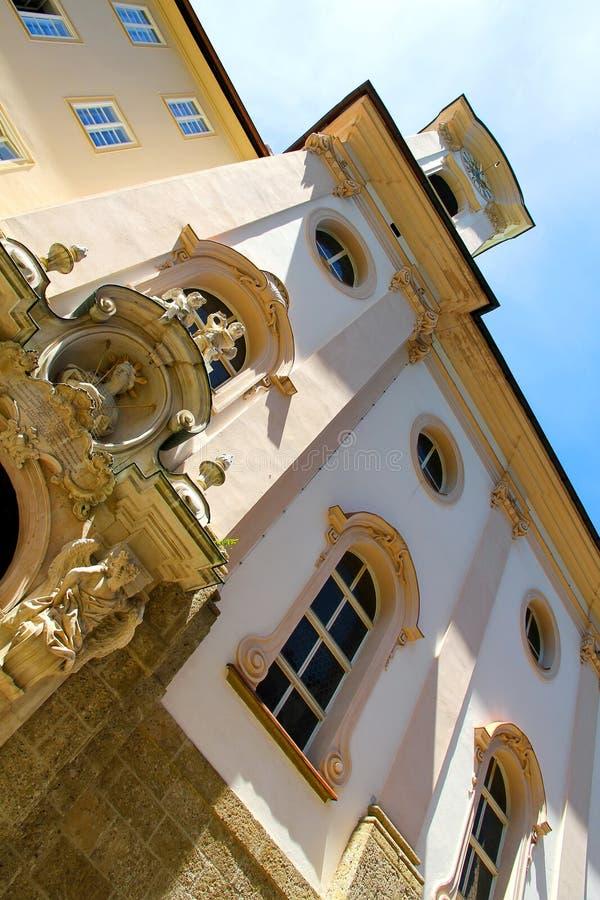 Историческое зодчество в Зальцбург стоковая фотография rf