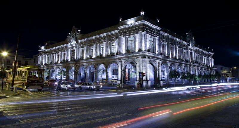 Историческое здание в Гвадалахаре стоковые фотографии rf