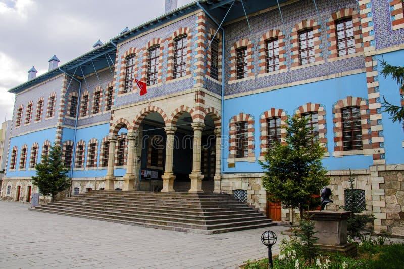 Историческое здание в Kutahya, Турции стоковое изображение
