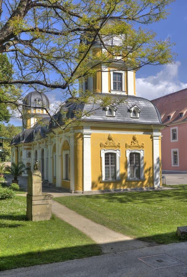 Историческое здание в Wurzburg, Германии стоковое изображение rf