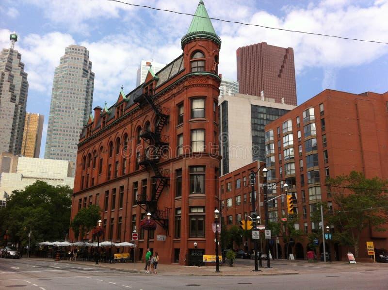 Историческое здание городской Торонто, Канада стоковая фотография rf
