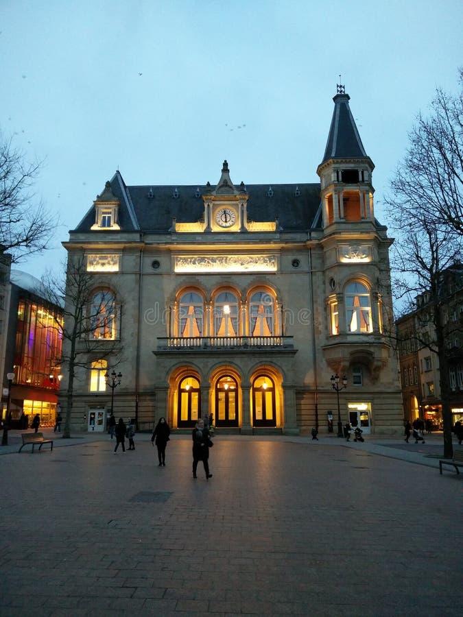 Историческое здание Люксембург стоковая фотография rf