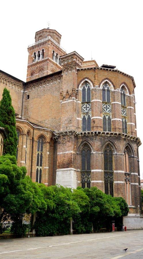 Историческое здание Santa Maria церков стоковая фотография rf