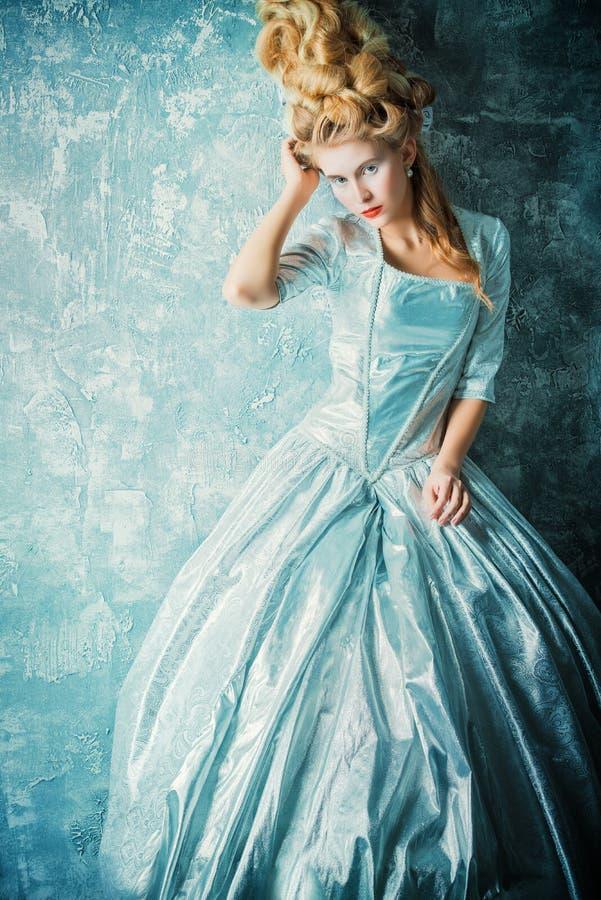 Историческое платье стоковое фото