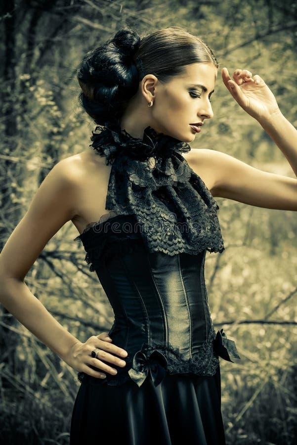 Историческое платье стоковое фото rf