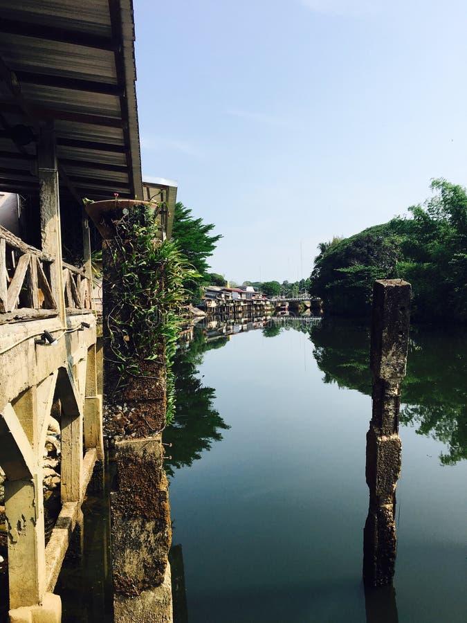 Историческое река снабжения жилищем и канала стоковая фотография rf