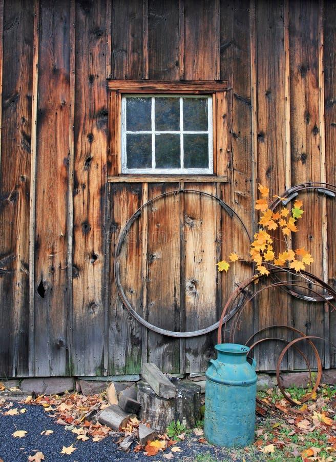 историческое село millbrook стоковое изображение