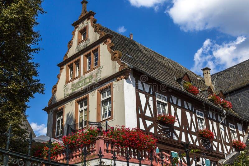 Историческое средневековое здание стоковые фото