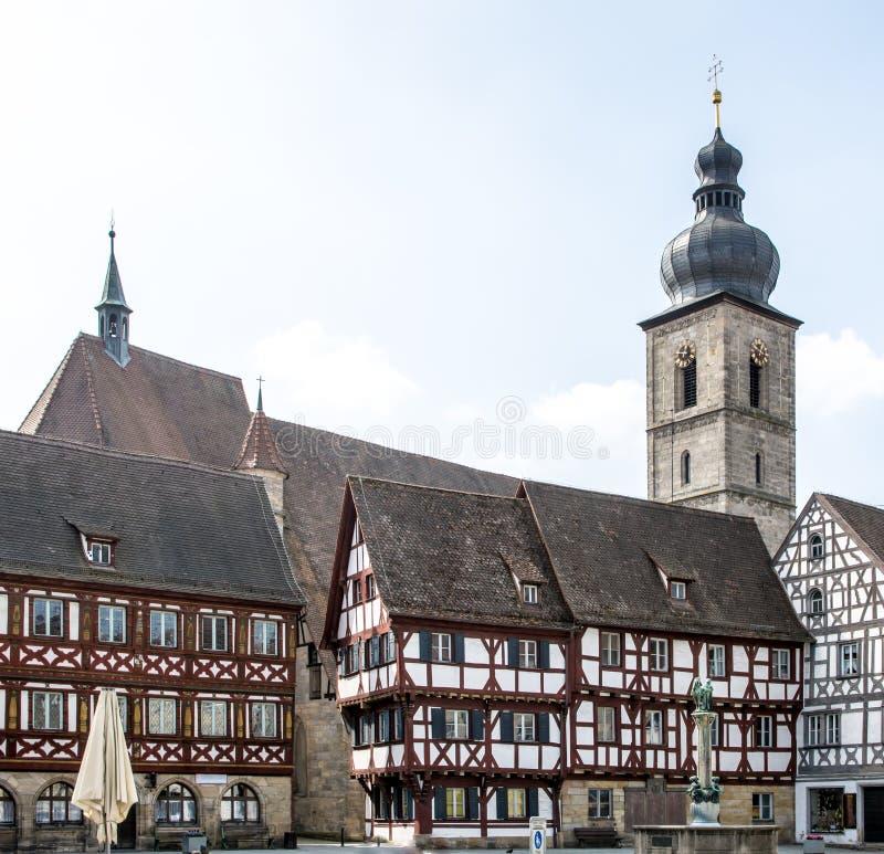 Историческое Forchheim стоковое изображение rf