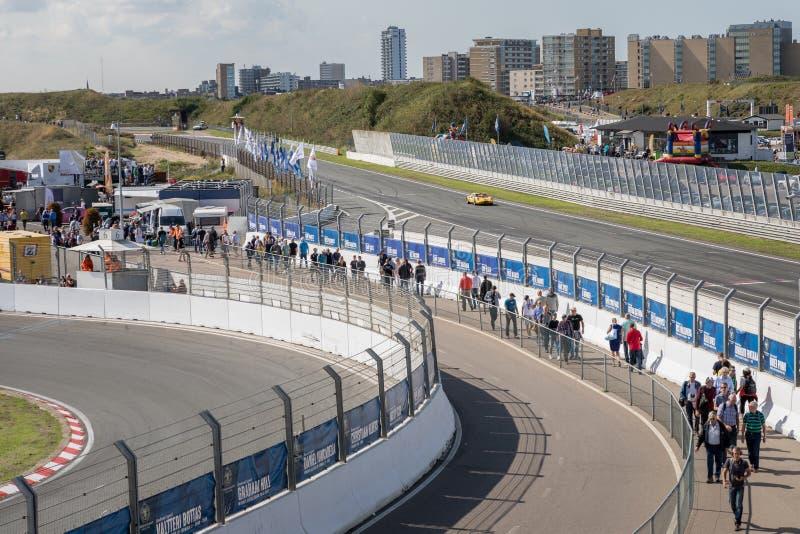 Историческое Grand Prix Zandvoort 2018 стоковые изображения