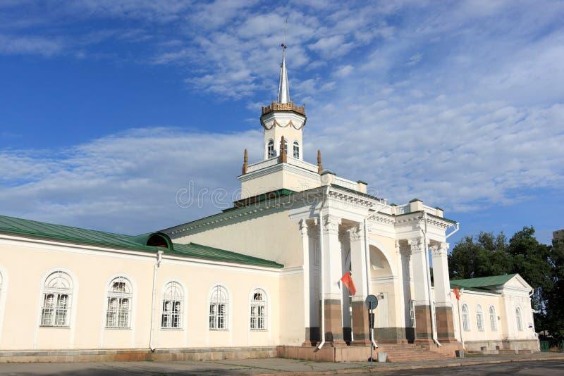 история здания bishkek стоковые изображения