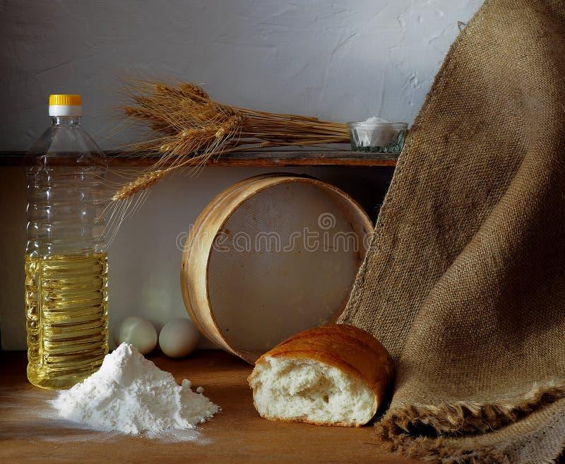 История о рождении хлеба стоковое изображение