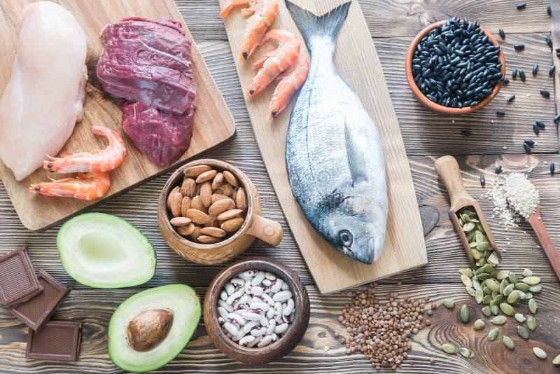 Источники еды цинка стоковое фото