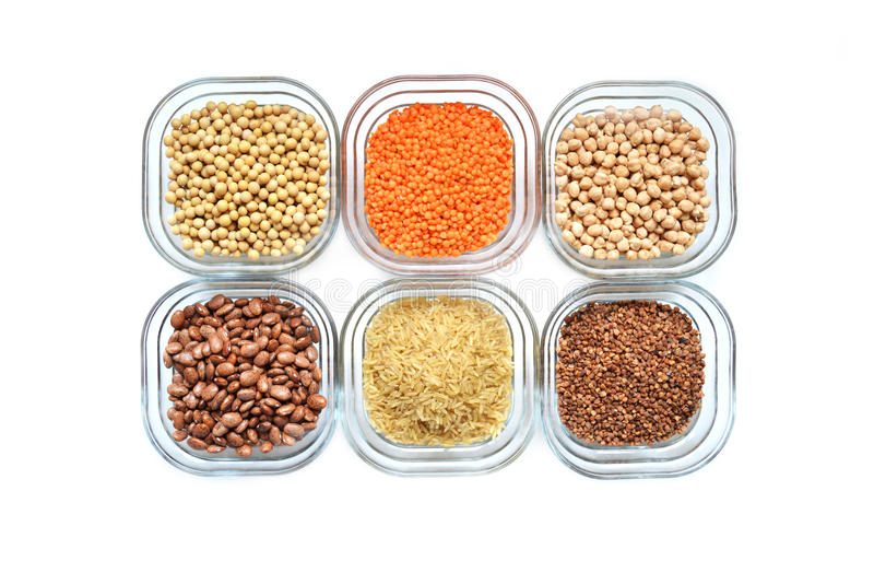 Источники протеина завода стоковые изображения rf
