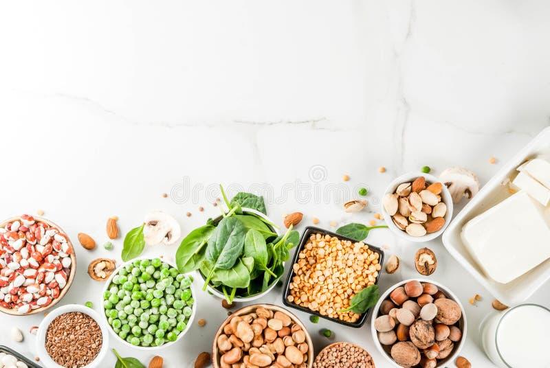 Источники протеина Vegan стоковые фото