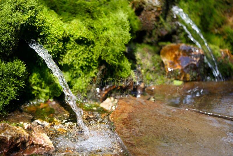 Источник ключевой воды стоковые фото