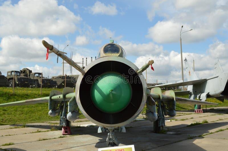 Истребитель-бомбардировщик Su-17 m стоковые изображения