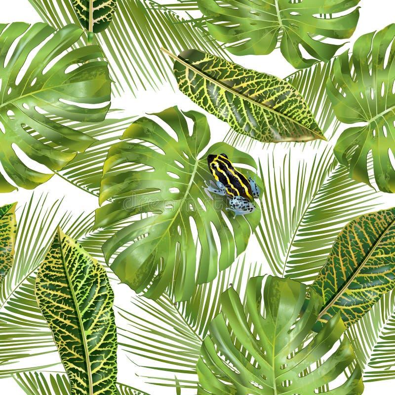 листья делают по образцу тропическое бесплатная иллюстрация