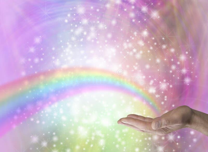 Исцелитель радуги стоковые фото