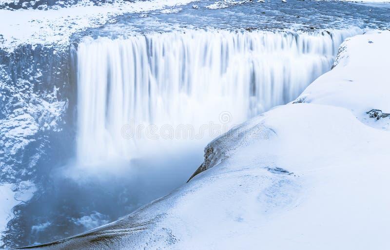 Исландские водопады стоковые фото