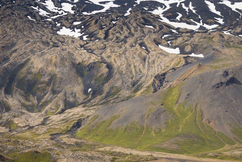 Исландский ландшафт на полуострове Snaefellsnes стоковые фотографии rf