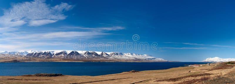 Исландский сценарный взгляд стоковое фото rf