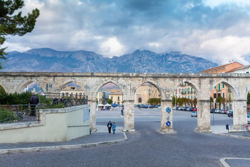 Италия, Абруццо, Sulmona стоковое изображение rf