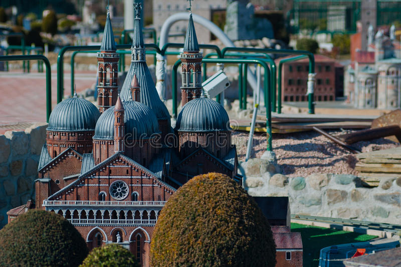 Италия миниая стоковое изображение rf