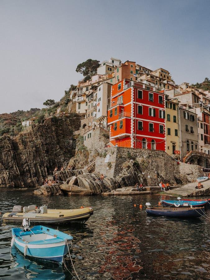 Италия Терра Cinque стоковые фото