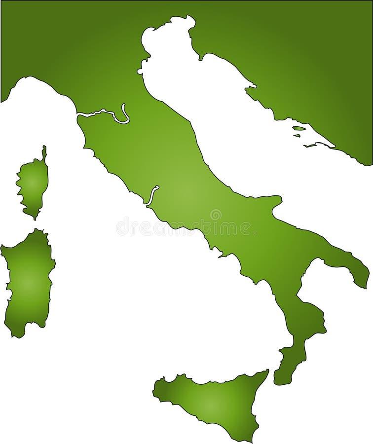 Download Италия иллюстрация вектора. иллюстрации насчитывающей граница - 650007