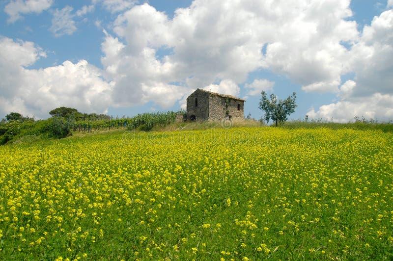 Италия lazio sabina стоковые изображения rf