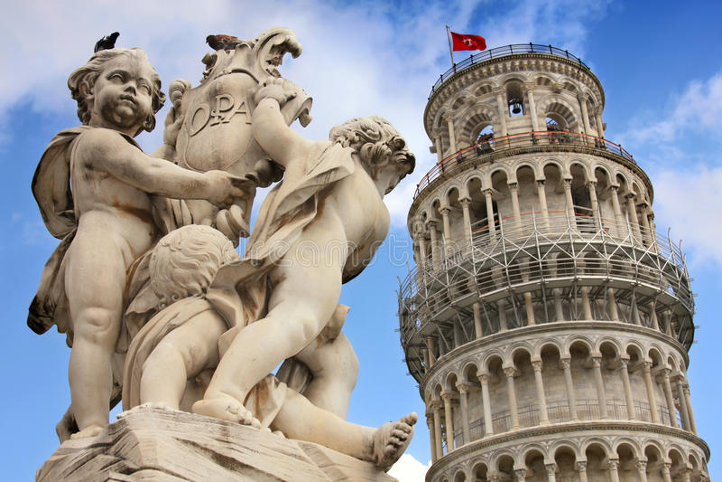 Италия pisa Тоскана стоковое фото rf